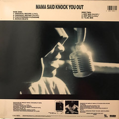 L.L. COOL J:MAMA SAID KNOCK YOU OUT(JACKET B)