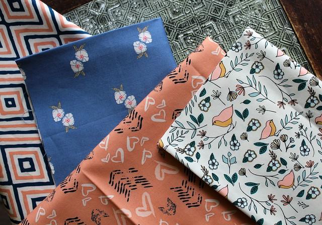 Block 6 Love Story Fabrics