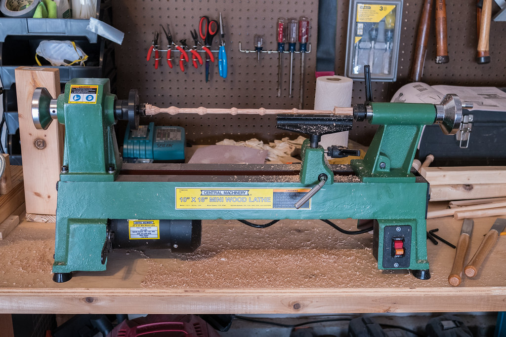 A real lathe