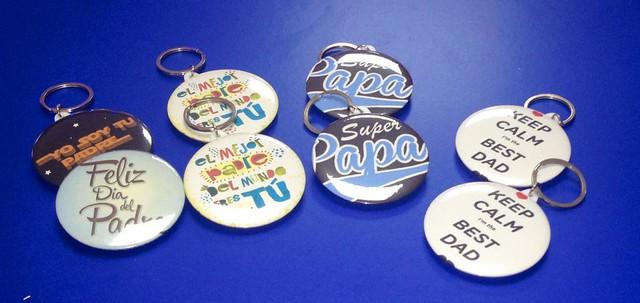 Chapas personalizadas para las festividades de cada pueblo o ciudad