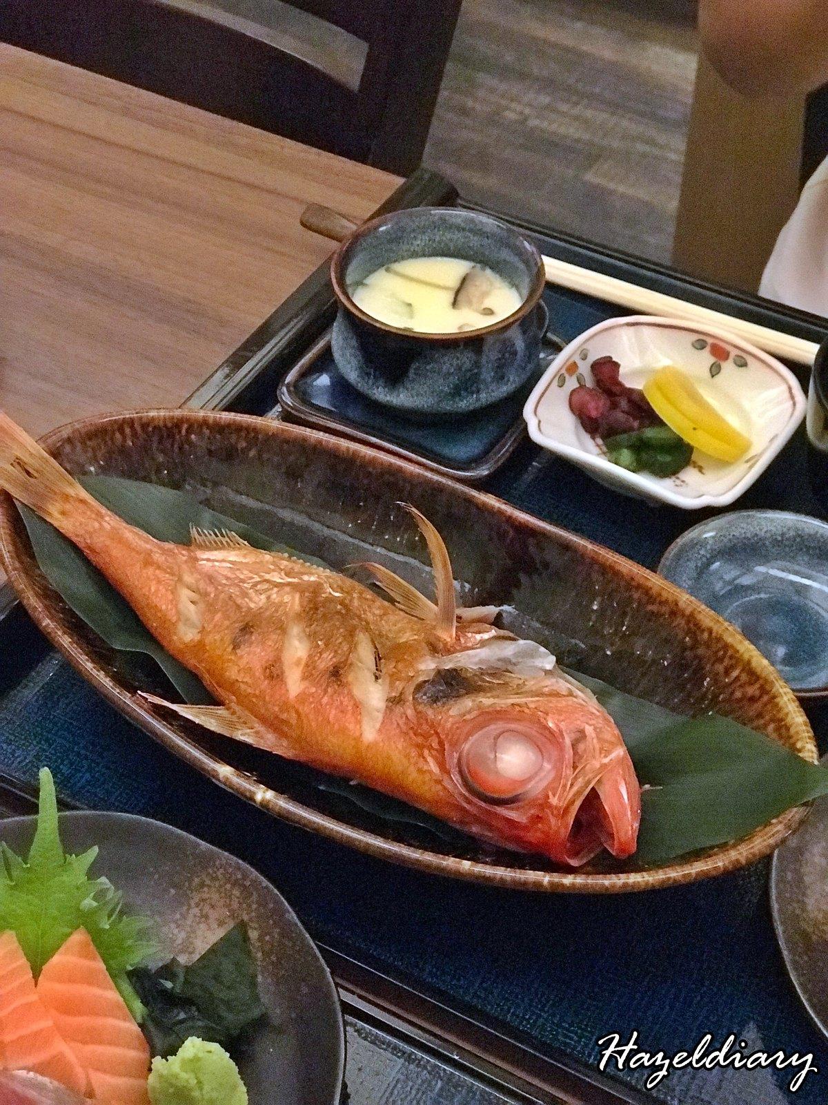 Mitsu Spring Menu-Grilled Fish