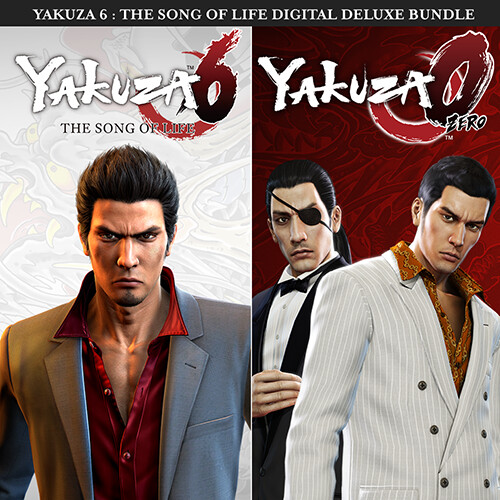 Yakuza 6: The Song of Life and Yakuza 0 Digital Bundle