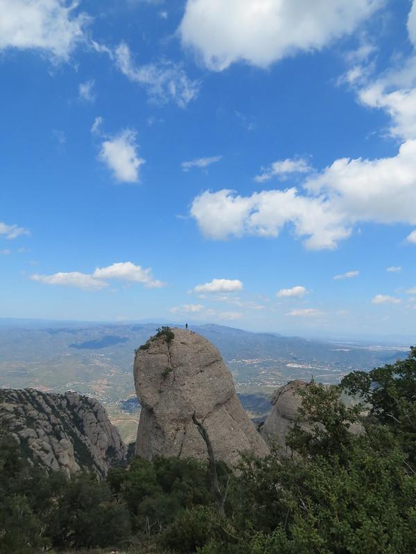 Escaladores en montañas de MontserratMiranda de Sant AntoniIMG_2627
