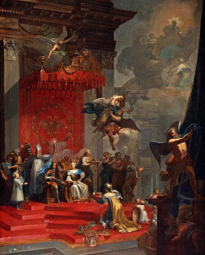Johann Georg Böhm - Tillskriven tysk romerska kejsarinnan Elisabeth Christina