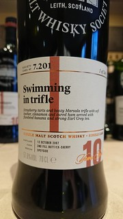 SMWS 7.201 - Swimming in trifle
