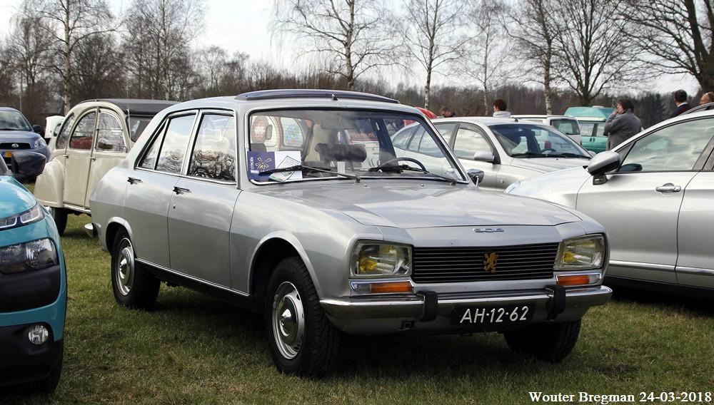 Peugeot 504 1970 A Type Markt 2018 Gemert Netherlands Wouter