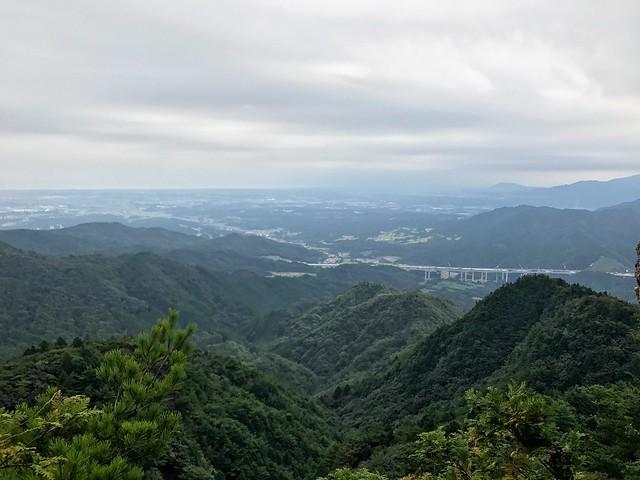 仙ヶ岳 南尾根 滝谷不動からの眺望