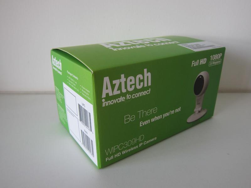 Aztech WIPC309HD Full HD Wireless IP Camera - Box