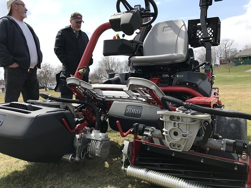 04-11-18 Frear Park Golf Course Maintenance Equipment