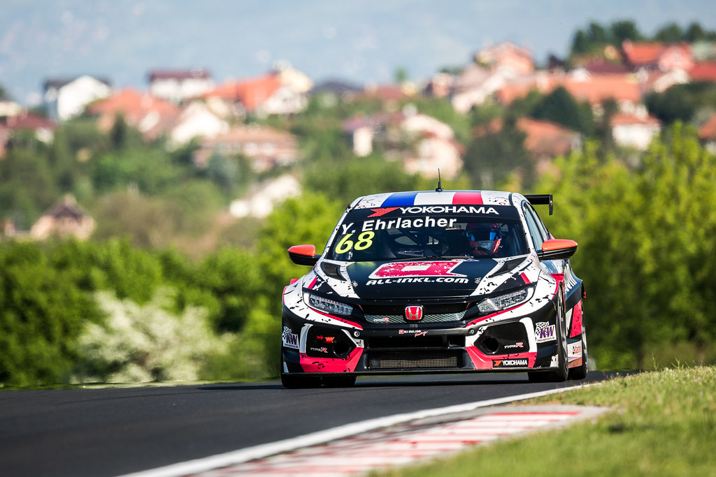 68 during the 2018 FIA WTCR World Touring Car cup, Race of Hungary at hungaroring, Budapest from april 27 to 29 - Photo Thomas Fenetre / DPPI
