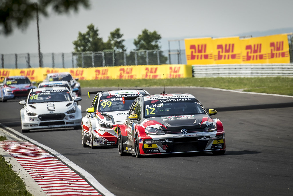 12 HUFF Rob (GBR), Sebastien Loeb Racing, Volkswagen Golf GTI TCR, action12 HUFF Rob (GBR), Sebastien Loeb Racing, Volkswagen Golf GTI TCR, action during the 2018 FIA WTCR World Touring Car cup, Race of Hungary at hungaroring, Budapest from april 27 to 29 - Photo Gregory Lenormand / DPPI