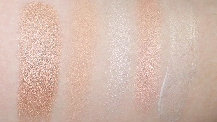 the low (budget) glow swatches avon maybelline hard candy