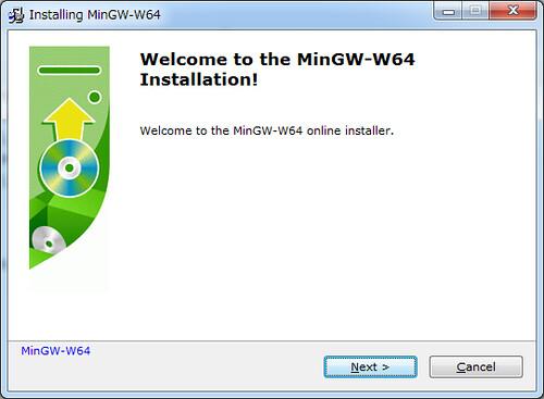 Installing Mingw-w64 (1)