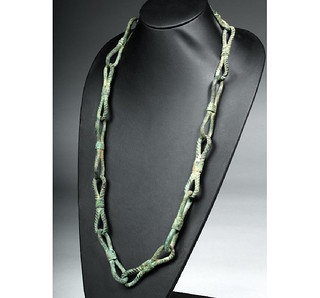 chain link probably used as a form of currency in the Roman Empire