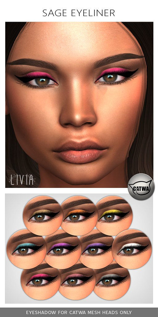 LIVIA // Sage Eyeliner [The Makeover Room April]