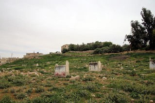 Muslims Grave yard of Dhiban