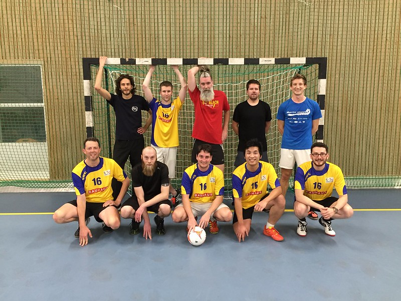 Football team at CSE Department - Chalmers & Gothenburg University