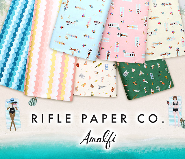 COTTON+STEEL Amalfi Collection by Rifle Paper Co.
