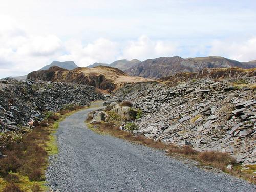 Maen-offeren slate quarry