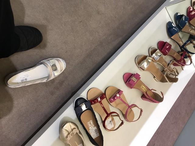 Ferragamo sandals,  Bicester village