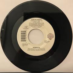 KARYN WHITE:ROMANTIC(RECORD SIDE-B)