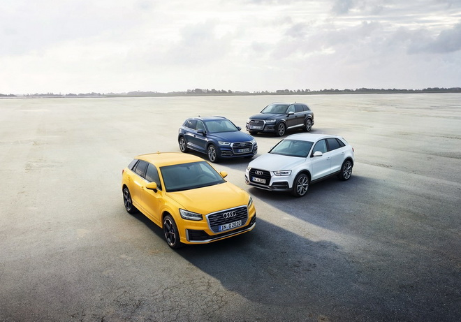 Audi Q Family 首選方案