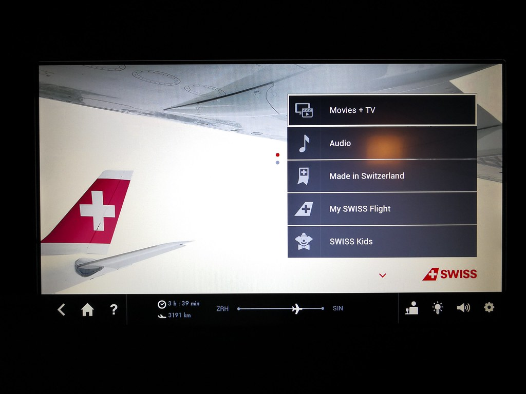 Inflight Entertainment Interface