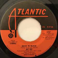 ACDC:BACK IN BLACK(LABEL SIDE-A)