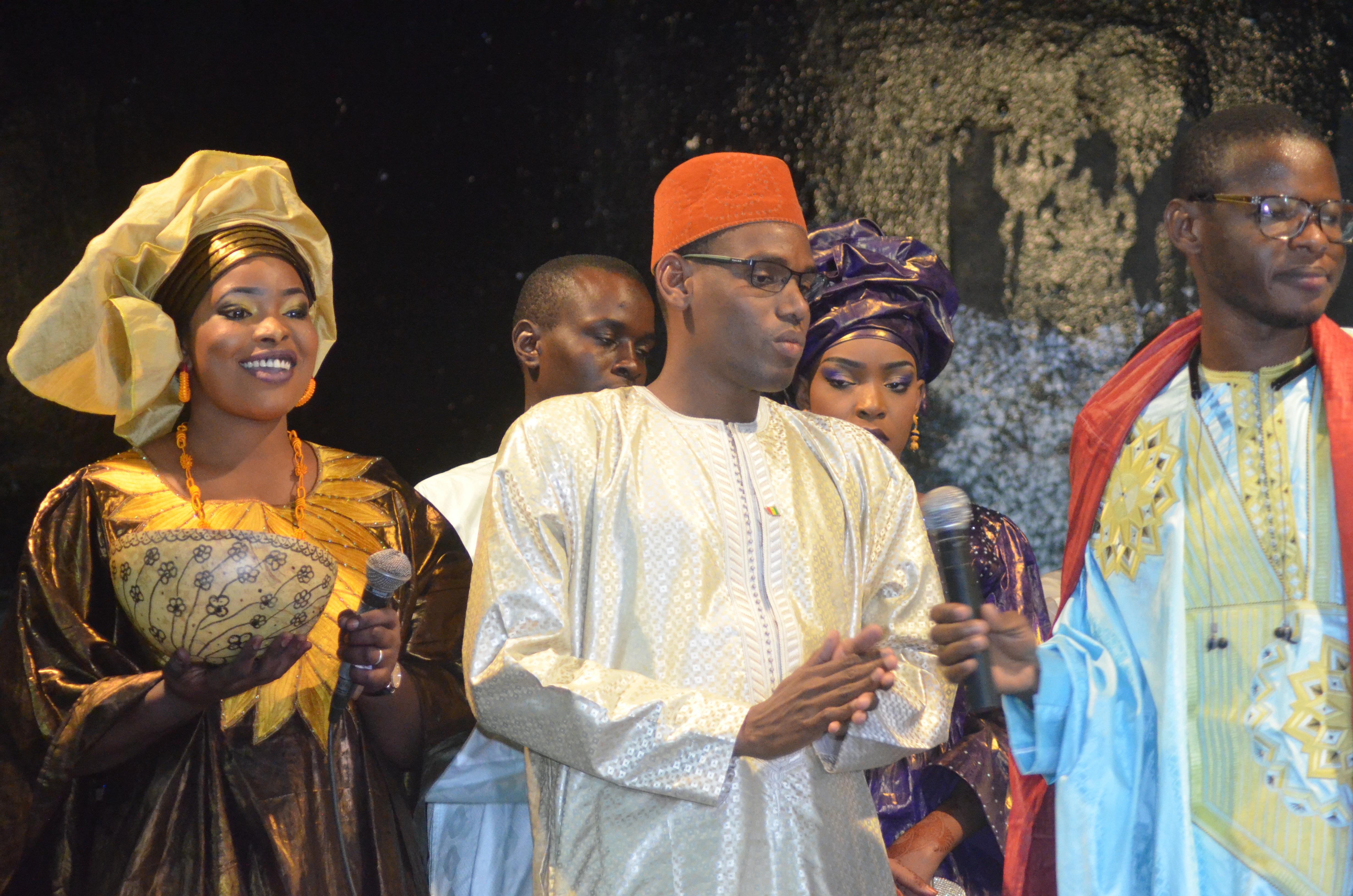 Première Edition soirée culturelle de l'Association Boyinadji Ma fierté de Bokidiawé, le parrain Bocar Abdoulaye Ly appelle à l'union des cœurs (37)