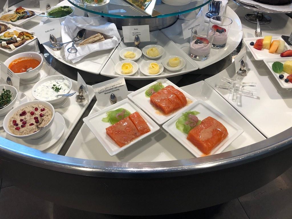 Emirates Lounge Milan MXP 17