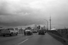 Gardiner Expressway, Toronto, 1990