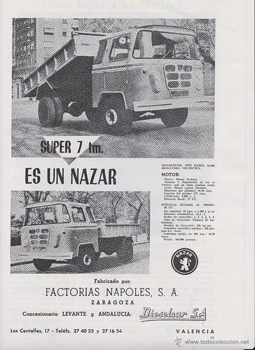 Publicitat camió Nazar Super 7 Tm