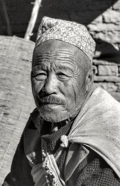 An old Gurkha.