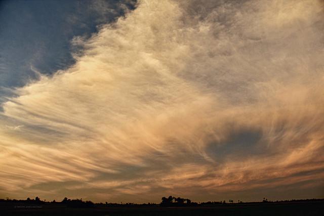 Roaring Sky.   @ Okavango Delta, Botswana