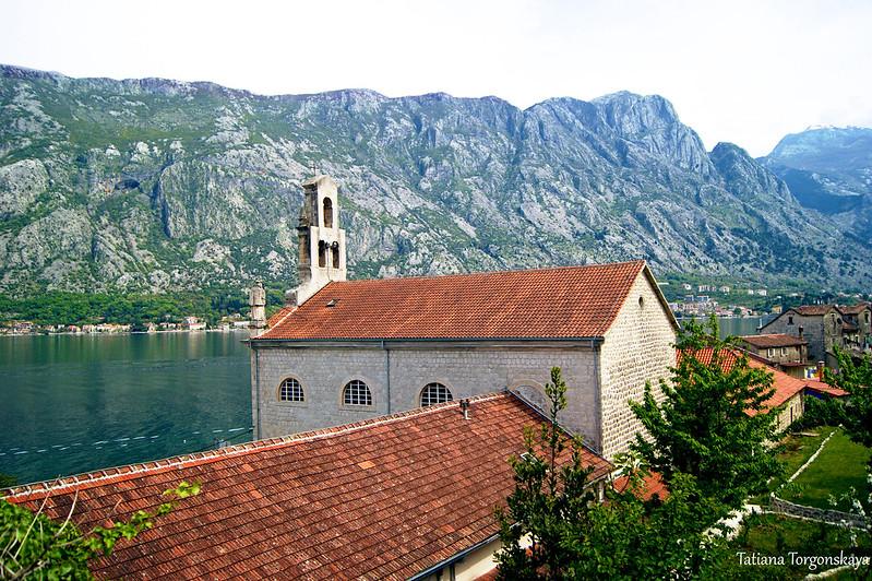 Вид на церковь Св. Николая