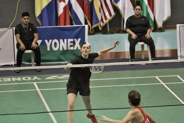 Finales del XXII Panamericano de bádminton