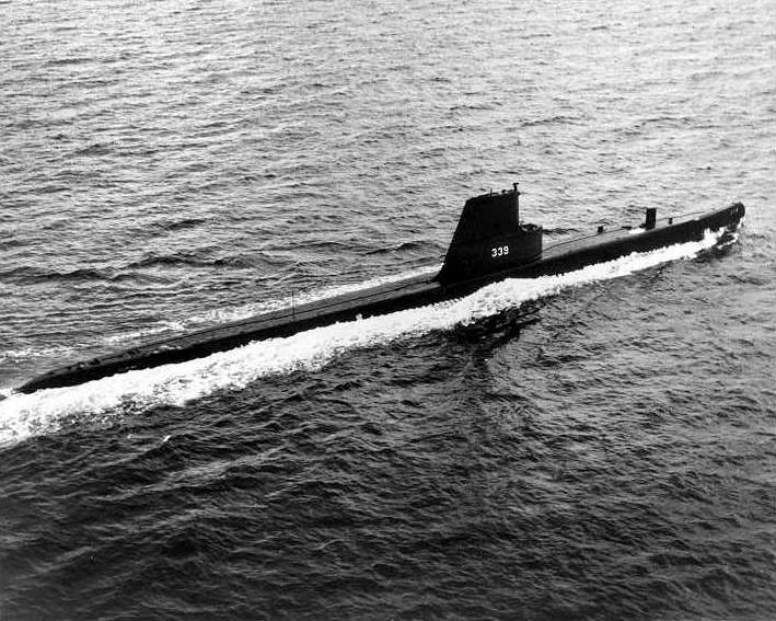 USS_Catfish; which later became ARA Santa Fe