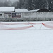 Cricket pitch in snow 3