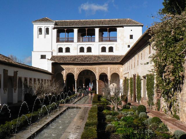 Alhambra, Granada, Panasonic DMC-FZ5