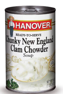 hanover clam chowder