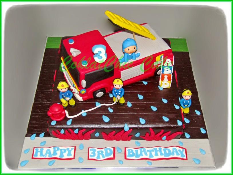 Cake Firetruck ABID 30 cm