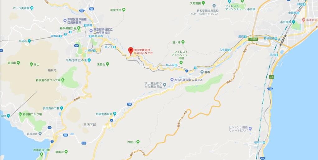 港区保養施設大平台みなと荘 - Google マップ - Microsoft Edge 2018-04-13 13.16.12