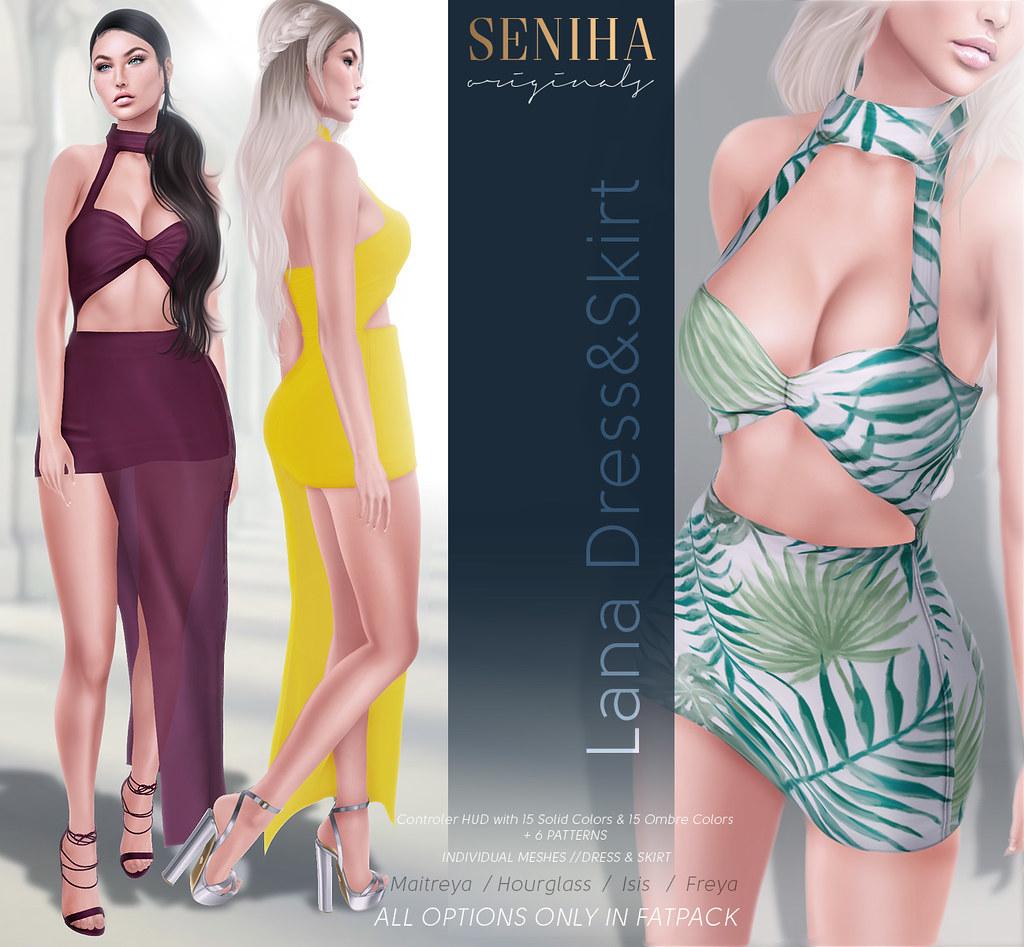 Seniha. Lana Dress&Skirt@COSMOPOLITAN EVENT - TeleportHub.com Live!