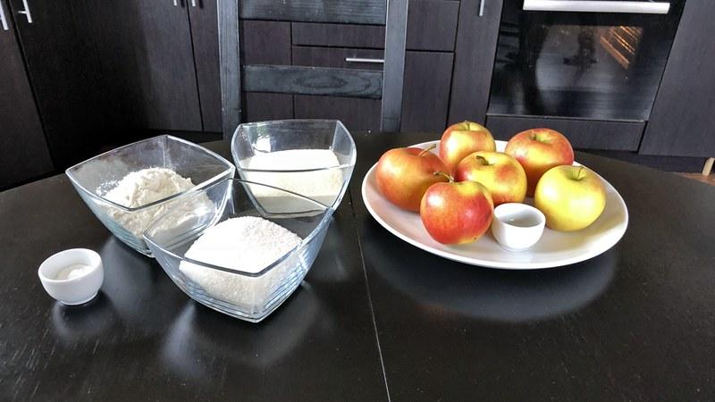 Яблочный пирог насыпной от повара Вовы