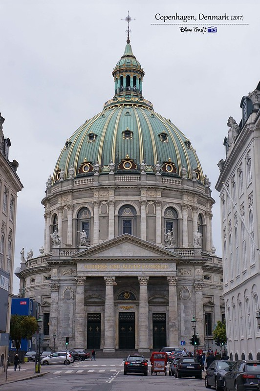 2017 Europe Copenhagen Amalienborg Palace - Frederik's Church