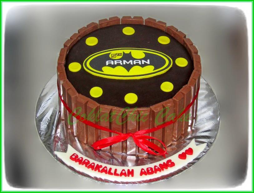 Cake Kit Kat Batman 15 cm