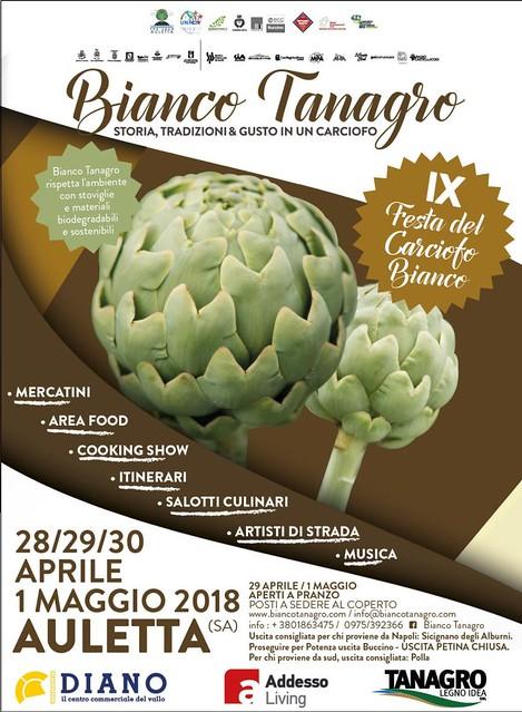 LOCANDINA Bianco Tanagro 2018