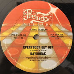 DAYBREAK:EVERYBODY GET OFF(LABEL SIDE-B)