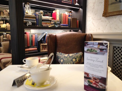 Tea corner at the Randolph