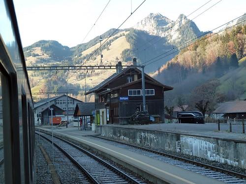 Bahnhof Boltigen im Simmental